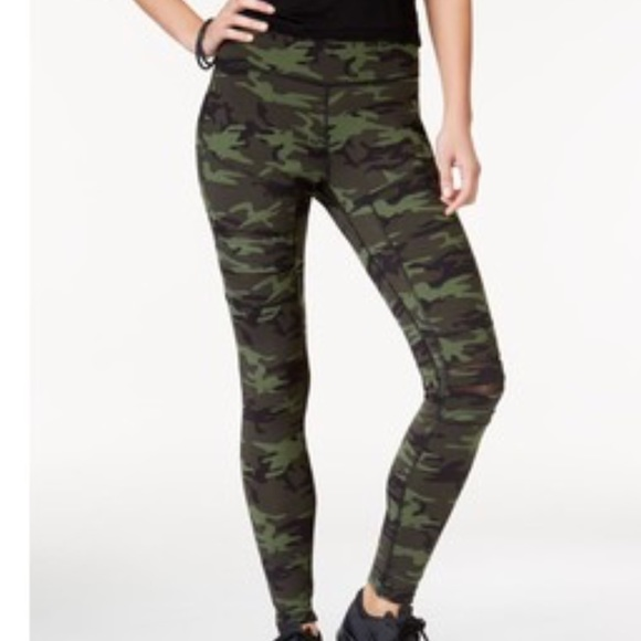 2b579dfa41927 Jessica Simpson Pants | New Camo Mesh Workout Leggings | Poshmark